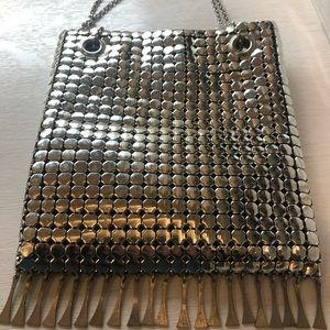 Whiting & Davis polished Silver Vintage bag